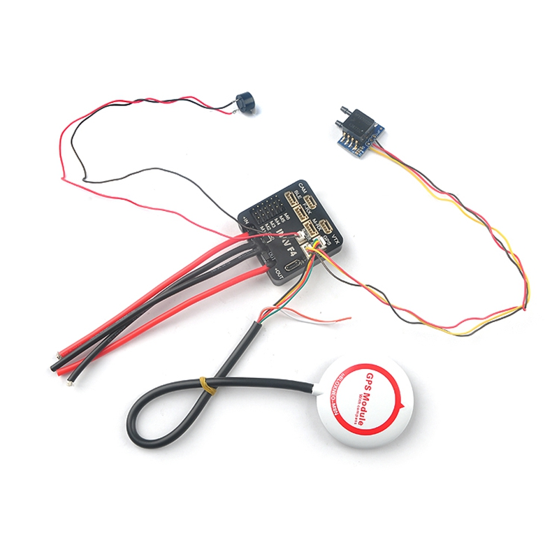 Inav F4 Flight Controller Standard/Deluxe Version Integrated OSD Buzzer W/Without GPS Airspeed for RC Airplane Fixed Wing