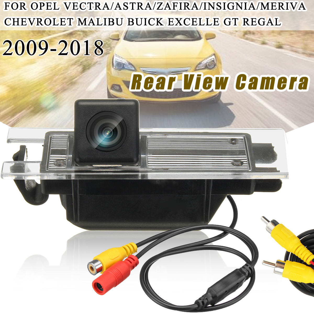 Parking Reversing Wide Angle 170° Car Rear View Camera Night Vision Waterproof