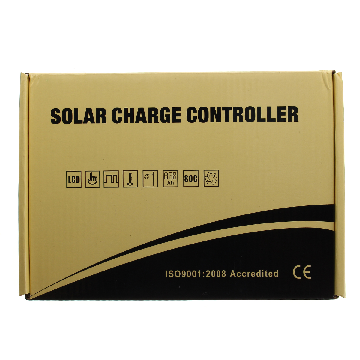 60A 12V-24V LCD Display Auto PWM Controller Solar Panel Regulator Charge Controller Battery