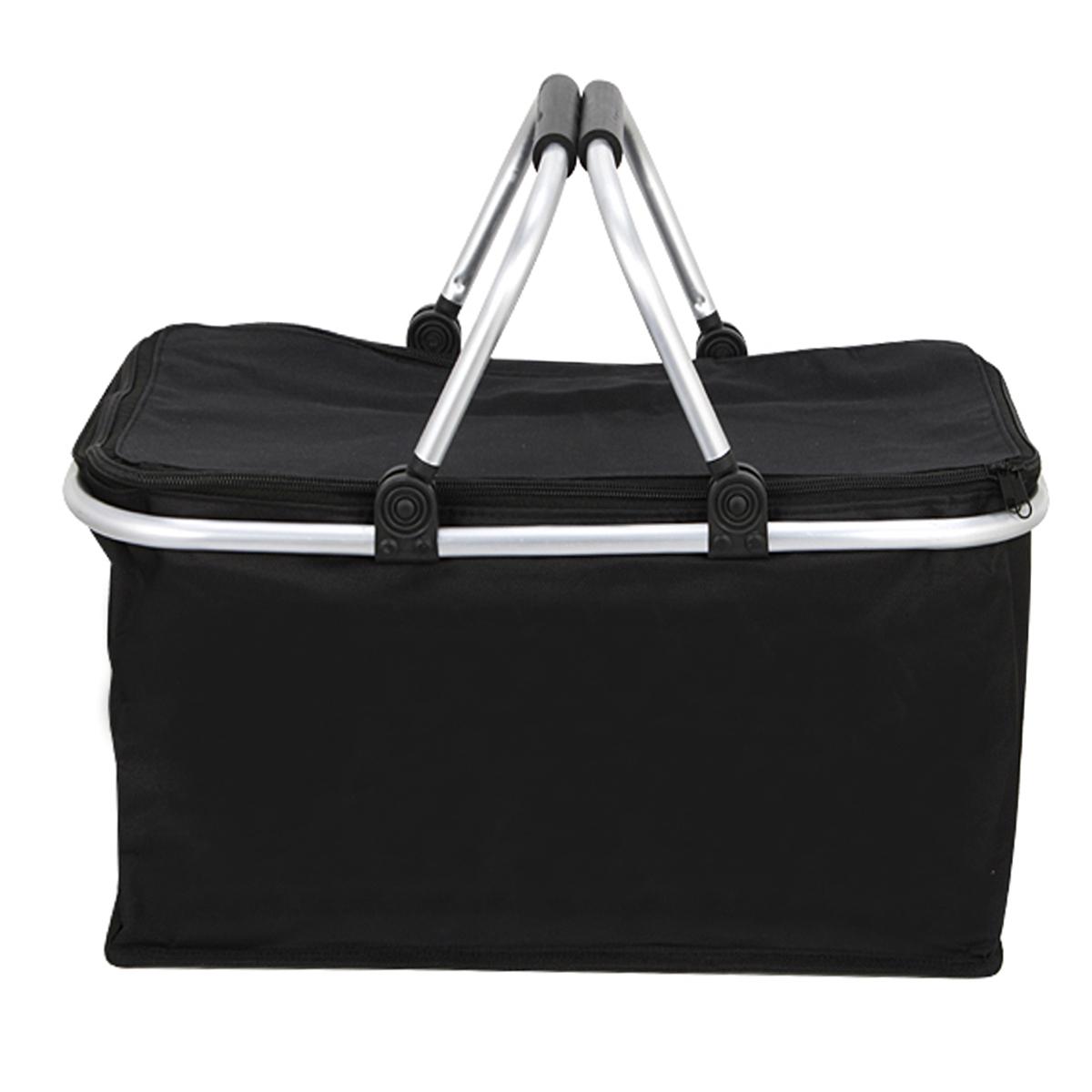 IPRee™ 30L Folding Camp Picnic Insulated Bag Ice Cooler Hamper Lunch Food Storage Basket
