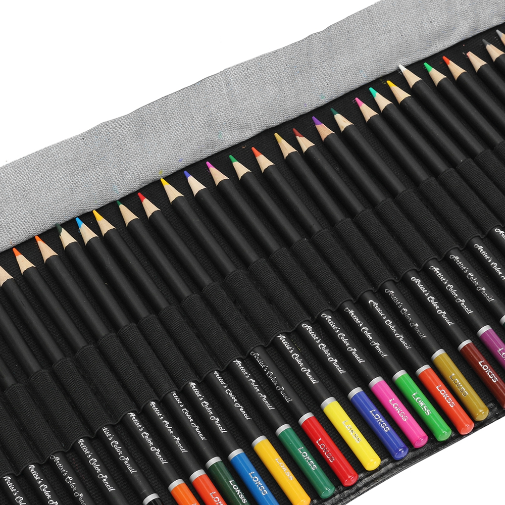 36 Colors Professional Art Painting Drawing Pen Non-toxic Pencils Set For Artist Sketch With Bag