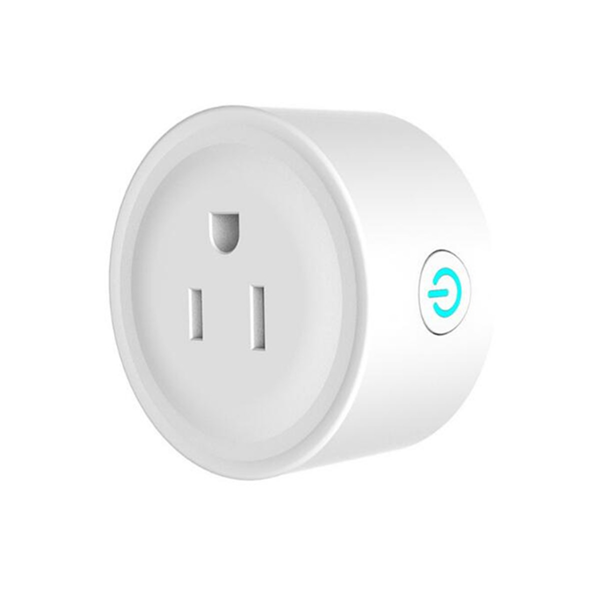 Smart Wi-Fi Mini 10A Outlet Plug Switch Socket Works With Echo Alexa Remote Control