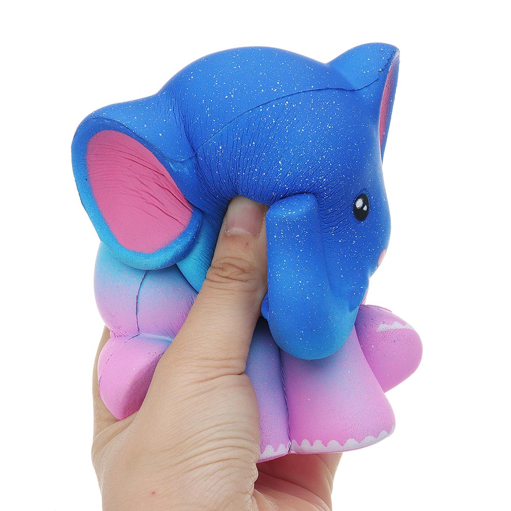 Elephant Squishy 13.5*10.5 CM Slow Rising With Packaging Collection Gift Soft Toy
