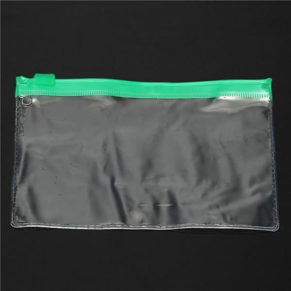 130×90mm PVC Transparent File Holder Packing Bags