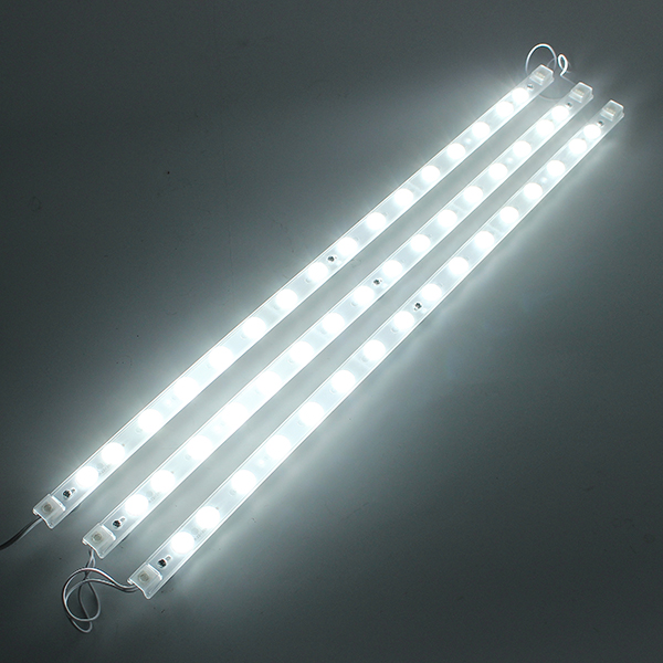 3PCS/4PCS SMD2835 White LED Rigid Module Strip Light Indoor Lighting Lamp With Power Supply DC24-84V