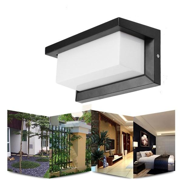 10W Warm White/White Waterproof LED Wall Lamp Outdoor Courtyard Garden Corridor Light AC90-265V