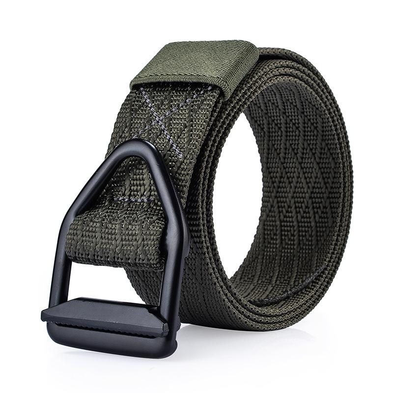 120CM Men Nylon Metal Alloy Buckle Belt Military Tactical Durable Outdoor Sport Pants Strip
