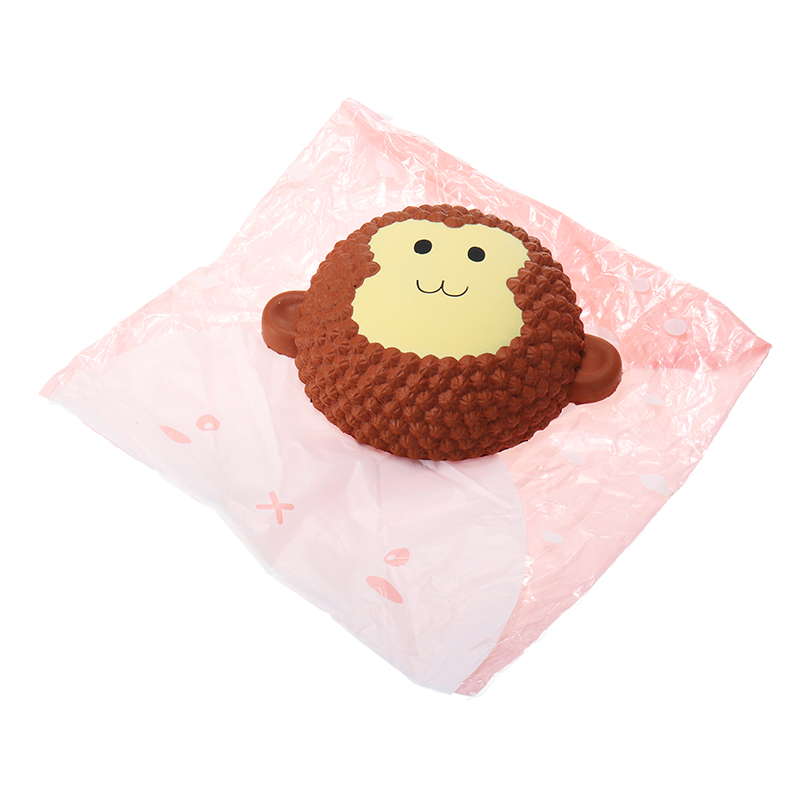 Squishy Monkey Cake 15cm Scented Slow Rising Original Packaging Collection Gift Decor