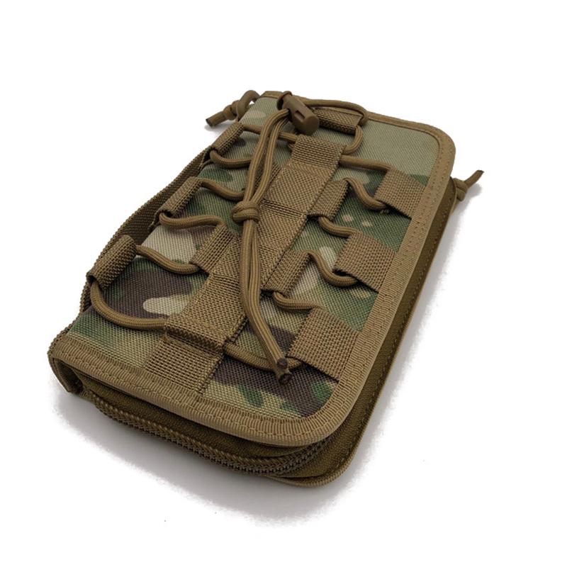 Men Nylon Outdoor Sports Wallet Army Fan Tactical Bag