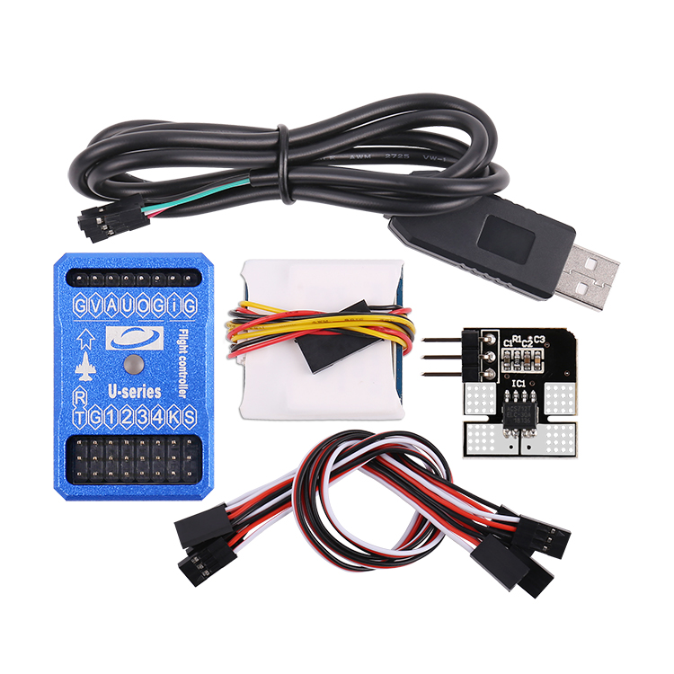 U2X Flight Controller Combo With OSD M8N-GPS 30A Current Meter Support SBUS/PPM For Fixed Wing RC Airplane FPV Racing Drone