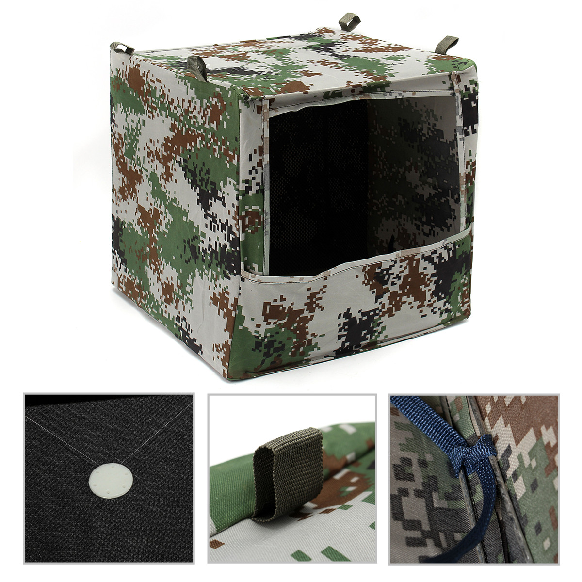 Hunting Portable Foldable Camouflage Box-type Airsoft Gun Shooting Game Target Case