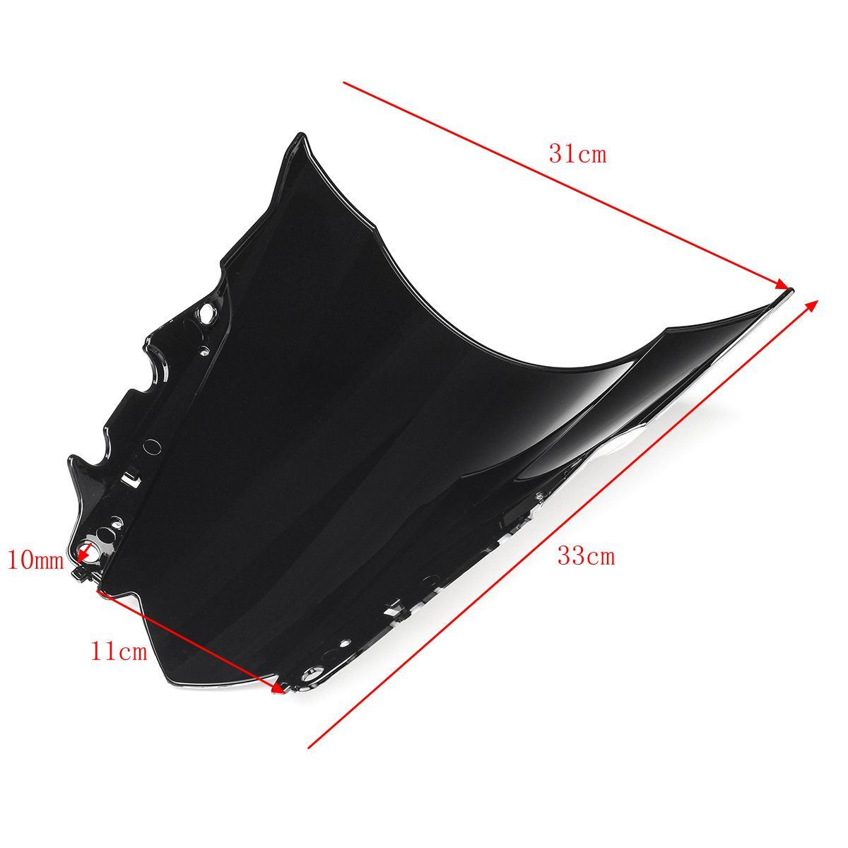 ABS Windshield WindScreen Double Bubble For Yamaha YZF-R25 14-16 R3 15-16