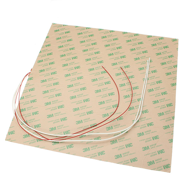 220V 30x30CM 750W Waterproof Thermostor Silicone Heater Heating Pad For 3D Printer Heated Bed
