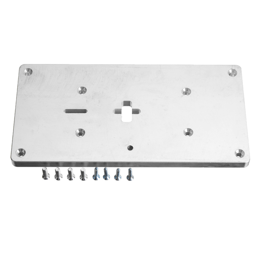 Other gadgets aluminum router table insert plate with fixing router table insert plate1 x set of fixing screwsmore details item greentooth Gallery
