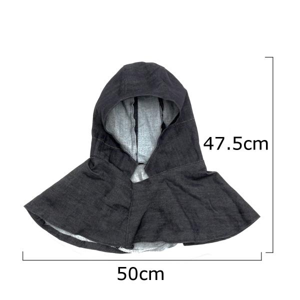 Welding Hood Shawl Denim Fabric Hood Flame Retardant Welders Welding Hood Welding Protective Hamlet