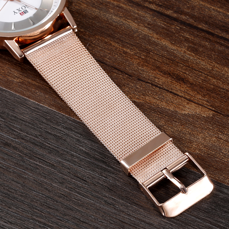 Rose Gold Ladies Wrist Watch