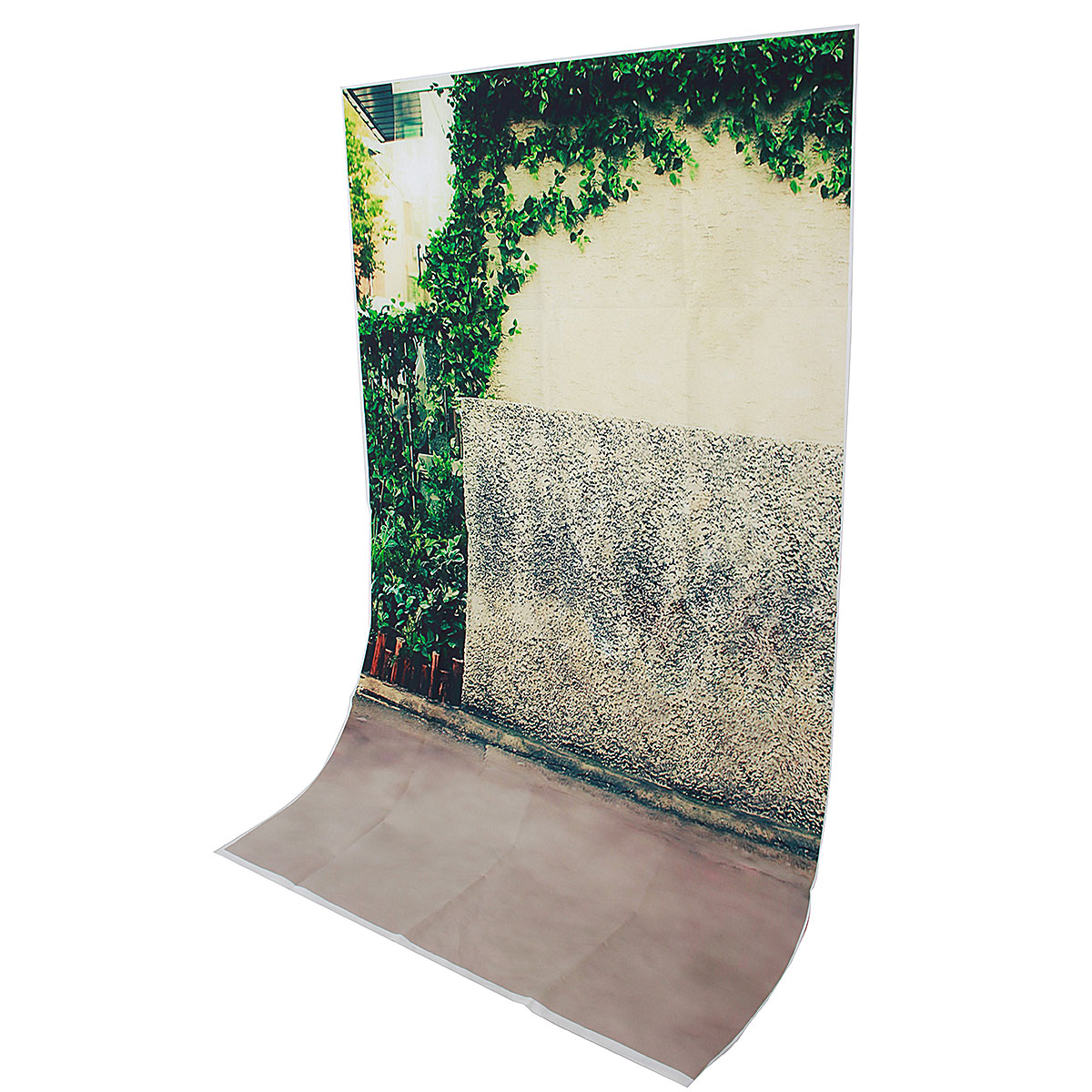 3x5FT Vinyl Green Tree Wall Road Side Photography Background Backdrop Studio Prop