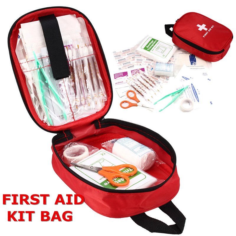 Sport Outdoor Cycling First Aid Medical Emergency Kit Carry Bag Pouch Camping Car Home Holiday