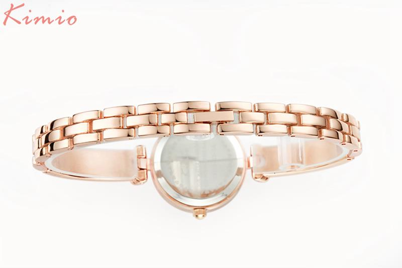 KIMIO KW6041S Fashion Women Quartz Watch Simple Ladies Dress Bracelet Watch