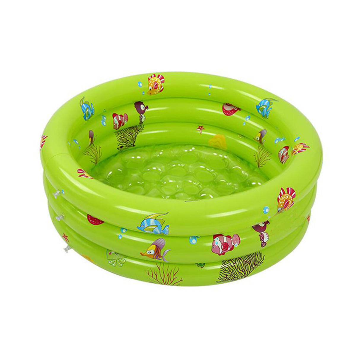 Round Baby Kids Swimming Ocean Ball Pool Inflatable Swimming Pool Toddler Water Fun Bath Toys