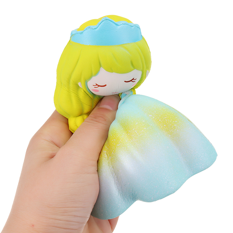 Cute Squishy Princess Wedding Girl 15CM Slow Rising Strap Soft Squeeze Toy With Packaging