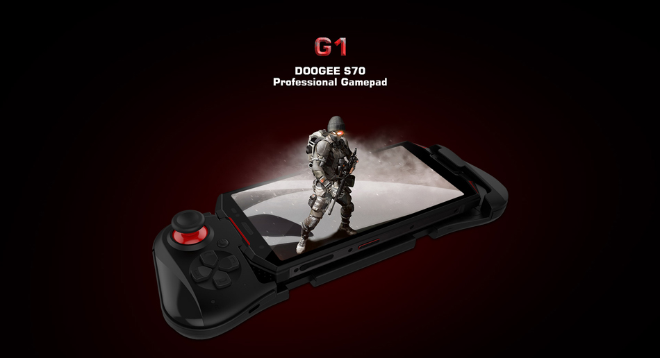 DOOGEE G1 360°Free Steering For Mainstream Android Games Gamepad for 4G Smartphone