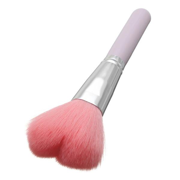 Professional Heart Shape Makeup Blush Brush Foundation