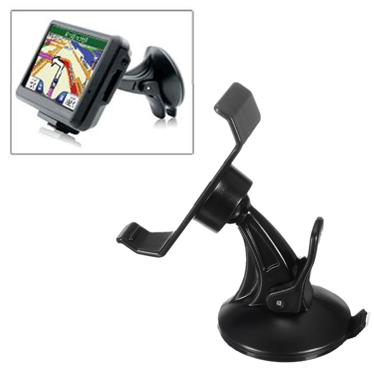 Universal Car Wind Shield Suction Cup Mount Holder Bracket Stand for Garmin GPS Navigator