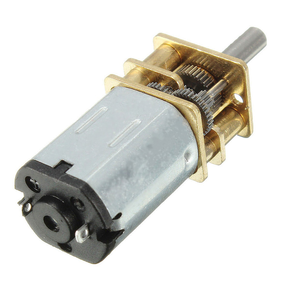 N20 DC12V 300RPM Mini Metal Gear Motor Electric Gear Box Motor