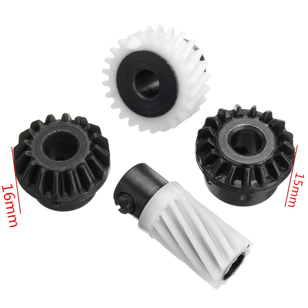 4pcs Sewing Machine Hook Drive Gears For Singer Stylist 500 Series 502 507 509 513 514 518 522