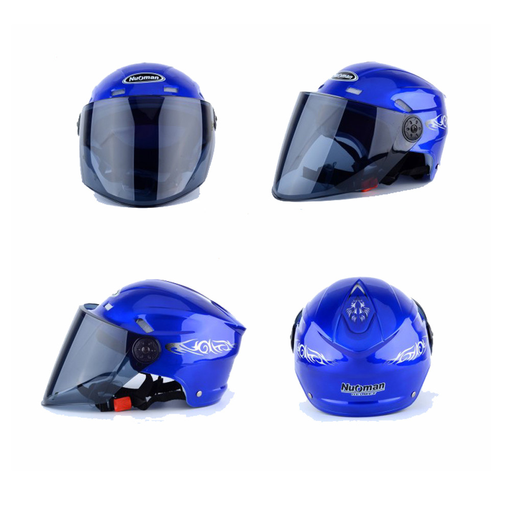 Breathable Wicking Summer Adjustable Motorcycle Half Face Helmet Outdoor Sporting