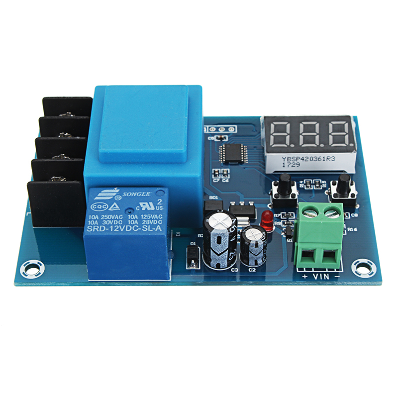 XH-M602 Lithium Battery Charging Control Module Overcharge Protection Digital Display High Accuracy Voltage Controller