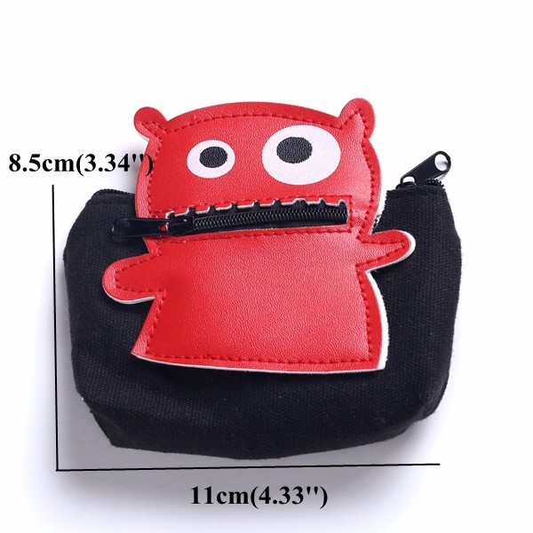Cartoon Creative Coins Bag Lovely Cute Style Change Bags Purse Card Bag