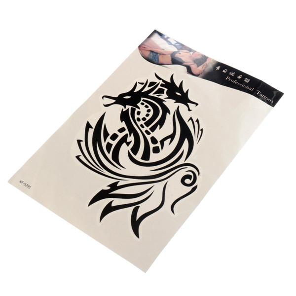 Temporary Tattoos Dragon Phoenix Totem Waterproof Arm Body Art Sticker