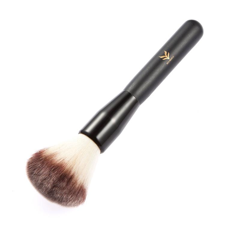 3 Colors Black Powder Blush Bronzer Brush Face Foundation Makeup Comestic Tools