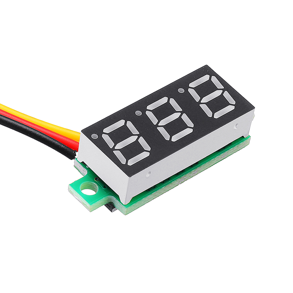 10Pcs Geekcreit® Red Led 0.28 Inch 2.5V-30V Mini Digital Volt Meter Voltage Tester Voltmeter