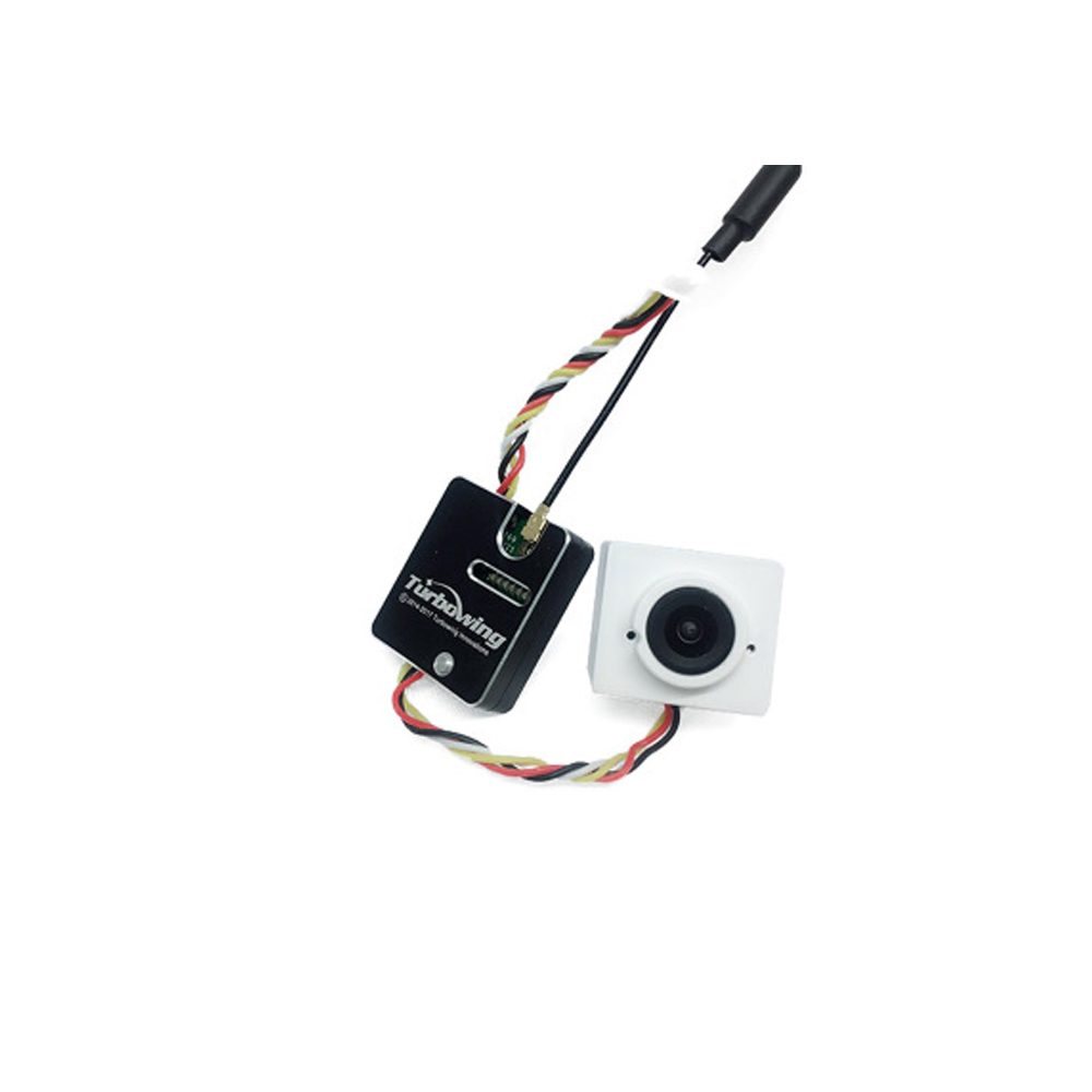 Turbowing 5.8G 48CH 25/200mW Switchable VTX With 700TVL 170/120 Degree Wide Angle DVR FPV Camera