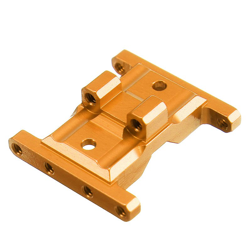 Orlandoo OH35A01 CNC Metal Upgraded Gear Box Base 1/35 RC Car Parts Orange - Photo: 3