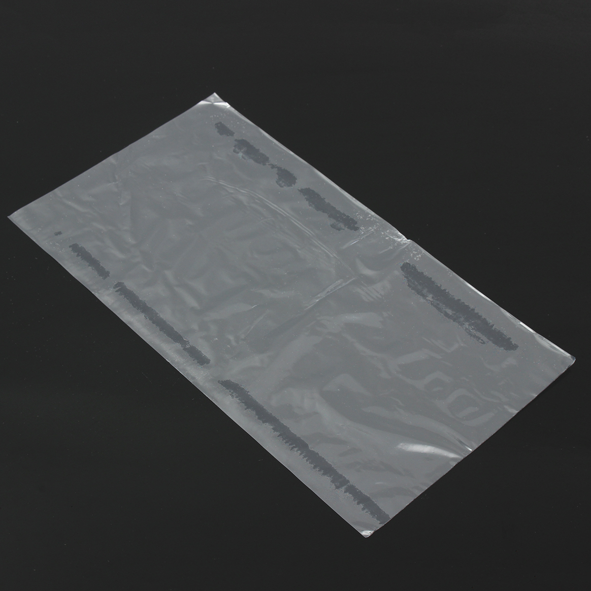 500Pcs PVC Heat Shrink Wrap Bags Film Clear Flat Poly Storage Bag Soap Candles Packaging 15×27cm