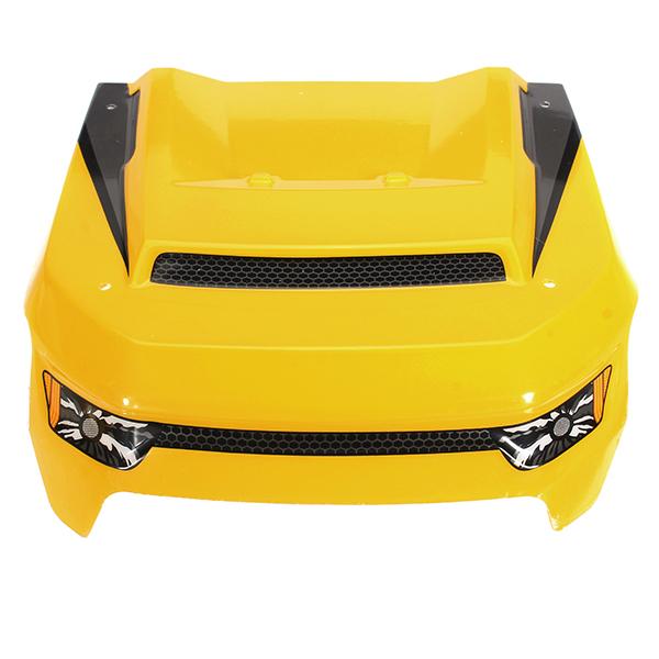 HBX 1/6 T6 TS072Y Car Body Yellow Front Window Shield R