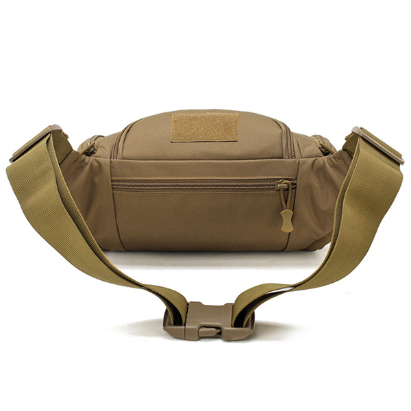 Men Nylon Outdoor Waterproof Tactical Sling Bag Chest Bag Waist Bag Crossbody Bag