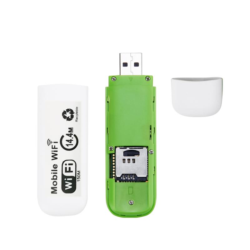 Qualcomm QR62W Chip 3G mini USB WIFI Router Wifi Hotspot WCDMA 2100MHz DL 14.4Mbps 3g Wifi Router With Multi SIM Card Slot USB Modem