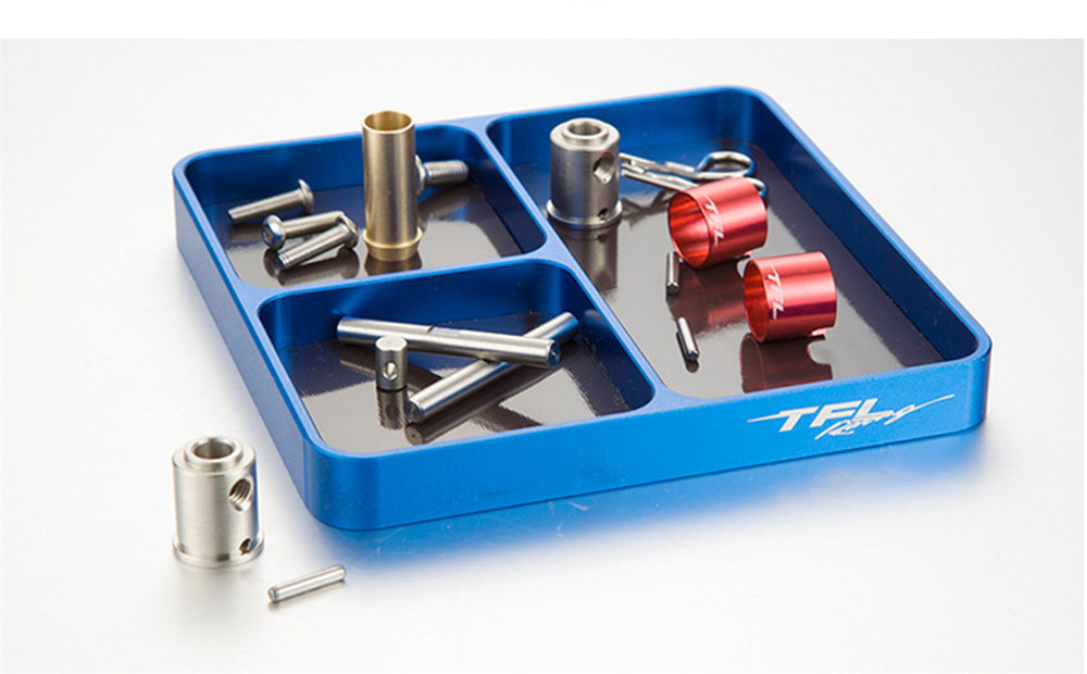 TFL TNF01 Aluminum Alloy Magnetic Tray Multi-Purpose Screws Holder Plate RC Model Parts Tools - Photo: 2