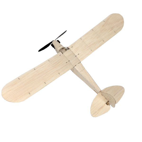 MinimumRC J3 Cub 460mm Wingspan Balsa Wood Laser Cut RC Airplane KIT