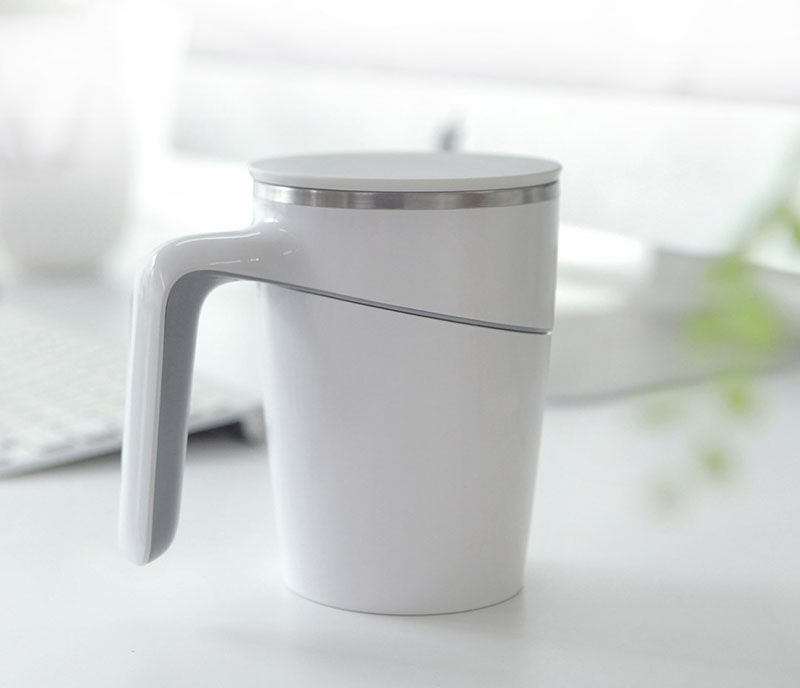 Fiu 470ML Not Pouring Cup From Xiaomi Youpin Stainless Steel Magical Sucker Splash Proof Mug