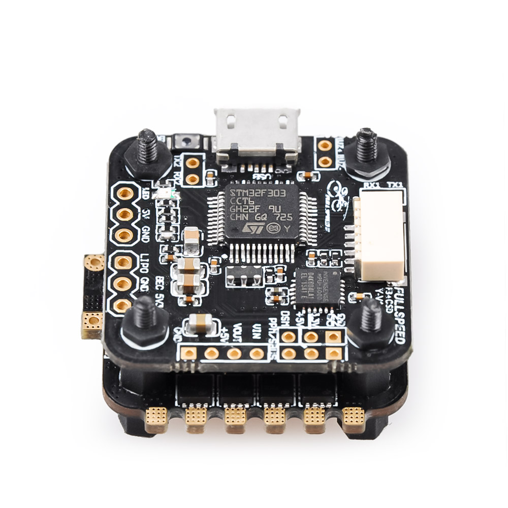 Full Speed 20x20mm FSD328 Flytower F3 Flight Controller AIO OSD BEC & 28A BL_S DShot600 4 in 1 ESC