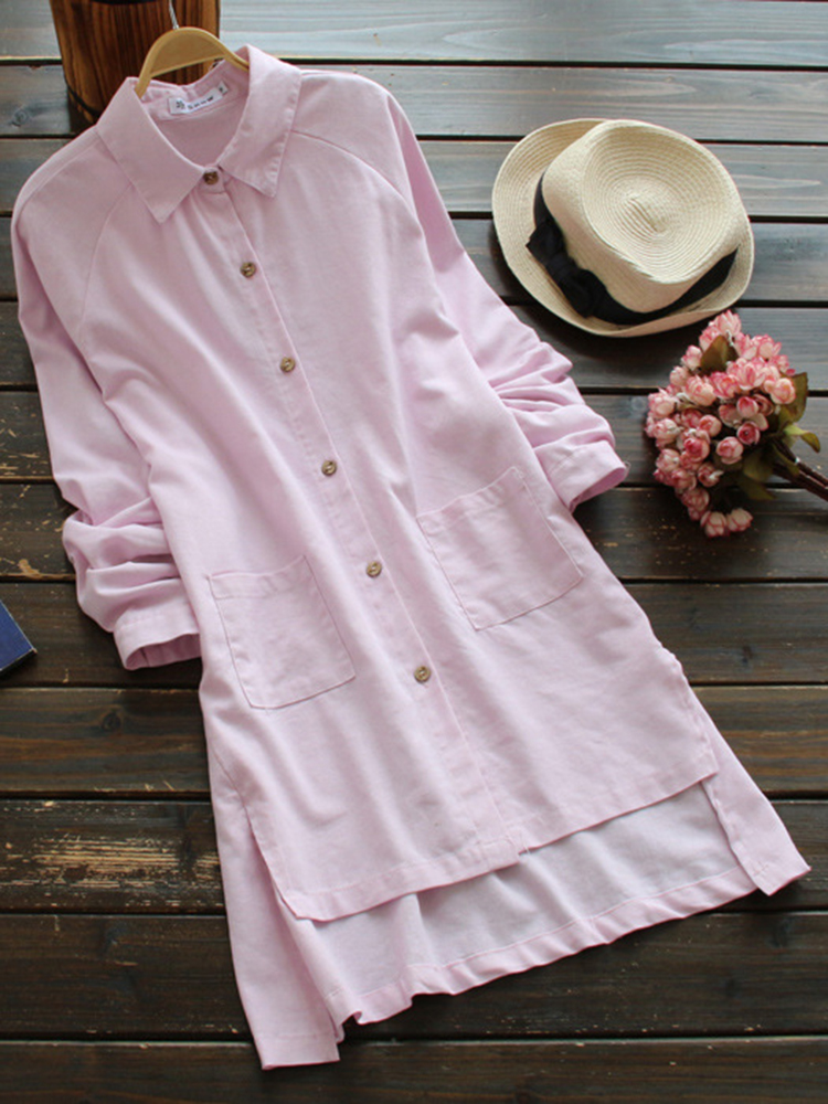 Mori Girl Casual Button Shirt