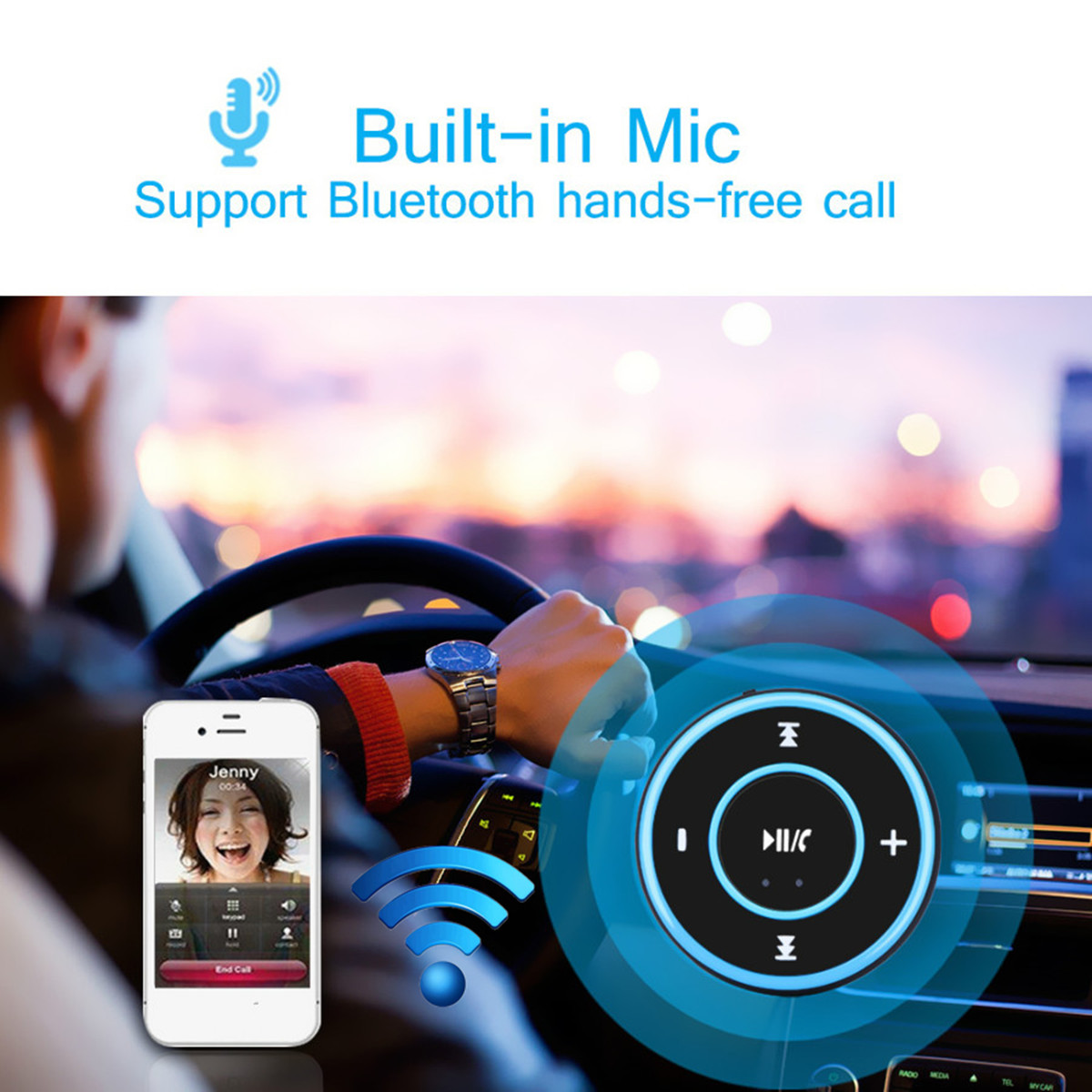 3.5MM Aux Car bluetooth Receiver 3.0 Wireless Music Audio Receiver