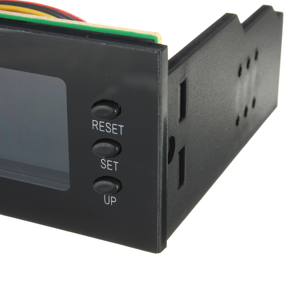 STW-5006 5.25 inch LCD Display CPU Cooling Fan Speed Controller Temperature for Desktop PC