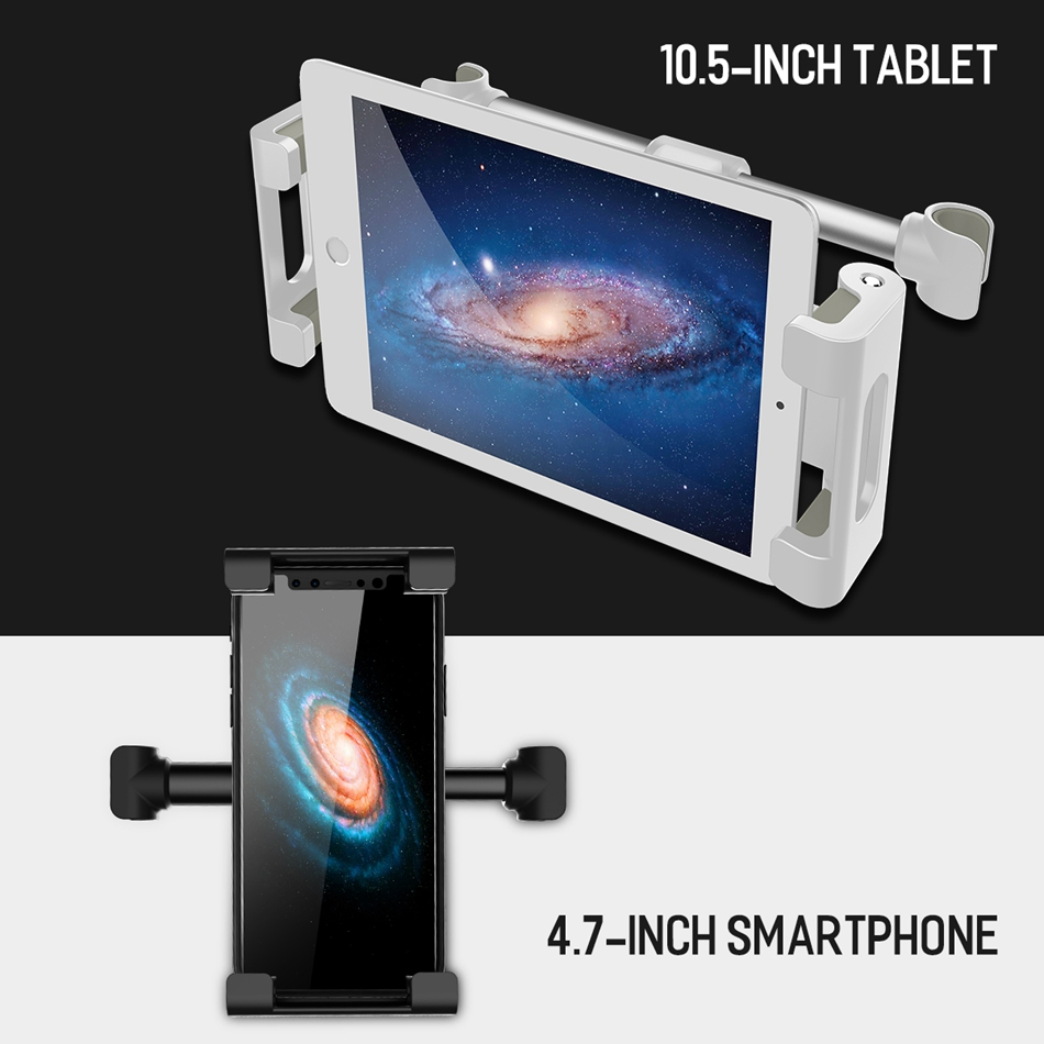 ROCK Car Backseat Holder Headseat Mount Lazy Holder Phone Stand for iPhone iPad Samsung Xiaomi